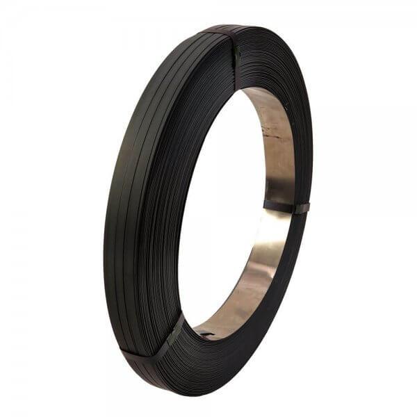 Stahlband Güteband schwarz